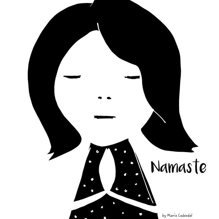 """Hejsan! Liv här. Vet du varför alla yogaklasser avslutas med """"Namaste""""? Jo, för att tacka dig själv, yogaläraren och de andra deltagarna för er gemensamma stund på mattan. Namasté är även namnet på händernas position när handflatorna möts, oftast framför bröstet. Det är en ödmjuk och hjärtlig hälsning som betyder ungefär """"Jag bugar för dig"""". Jag ser det som ett yogiskt tack. Namasté för oss samman. Vi möts i hälsningen och ser varandra."""