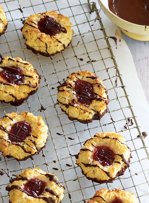 No Mother's Day afternoon tea would be complete without these decadent Strawberry and Coconut Macaroons.