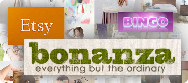 Do you sell on Etsy or Bonanza? Beginning Monday, September 2, the 'Best of Etsy and 'Best of Bonanza' Bingo Enabled™ auctions will become group auctions on Outbid, which means that you submit your wonderful items, and we'll help you sell them!