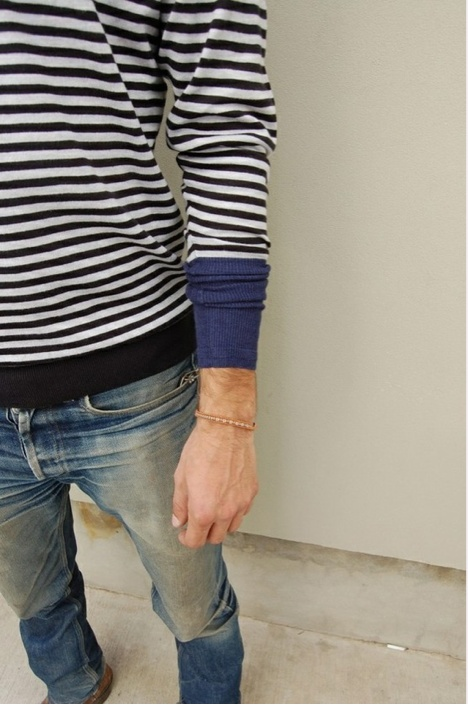 lottilou: Love stripes and the jeans