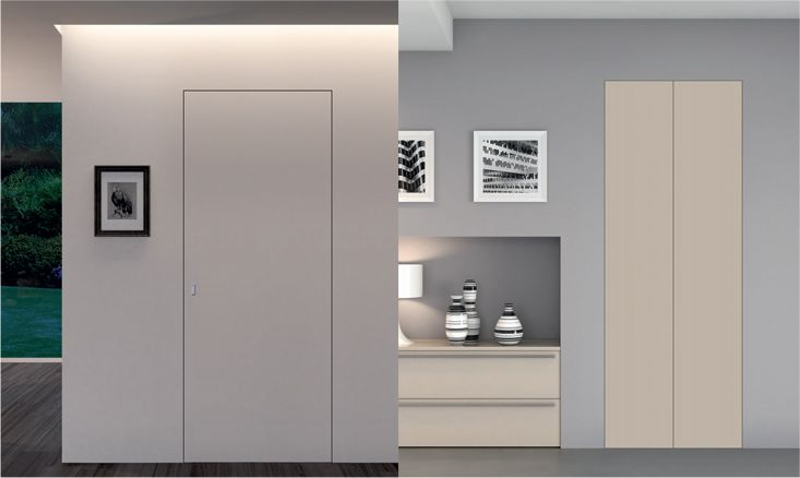Oltre 25 fantastiche idee su porte di vetro su pinterest - Porta filo muro prezzo ...