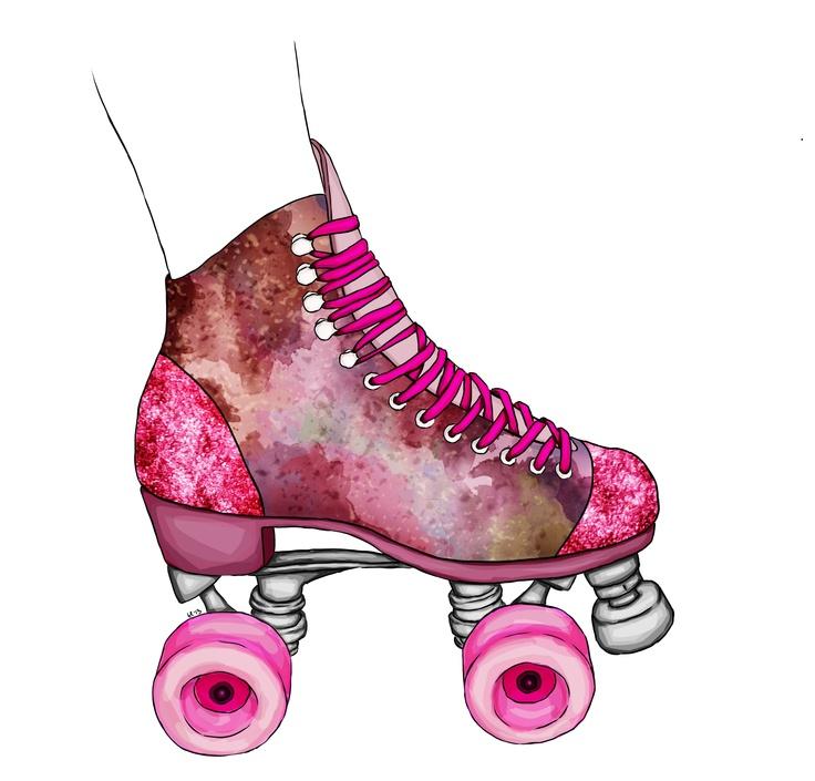 roller skates, spring, party, fun