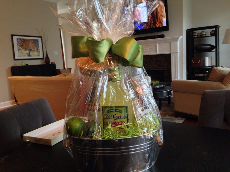 Margarita Gift basket for an employee