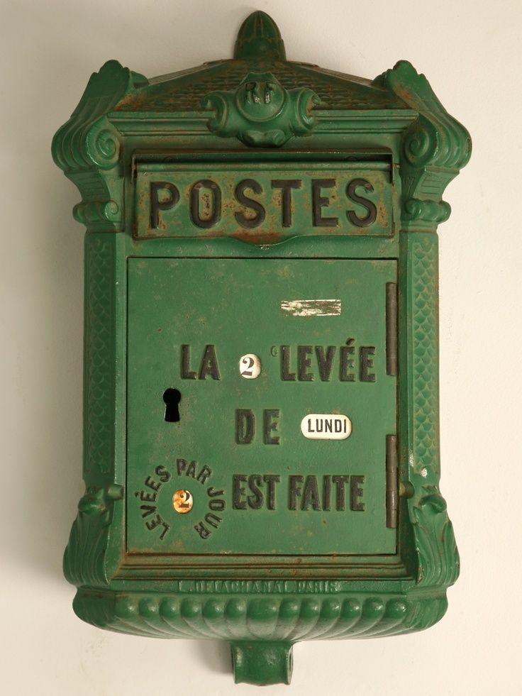 boite aux lettres vintage boites aux lettres mailboxes pinterest. Black Bedroom Furniture Sets. Home Design Ideas