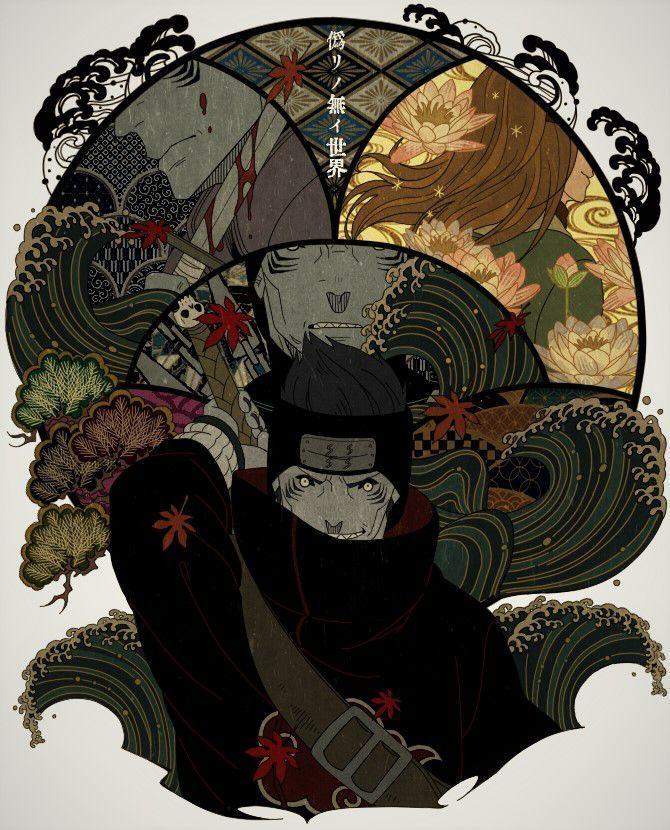 Frases de Naruto - Kisame | Arte de naruto, Arte de anime ...