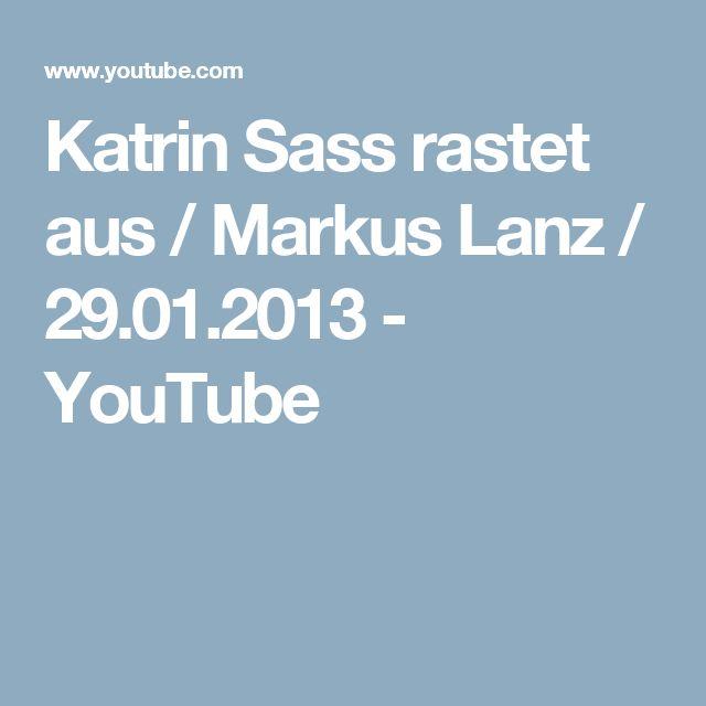 Katrin Sass rastet aus / Markus Lanz / 29.01.2013 - YouTube