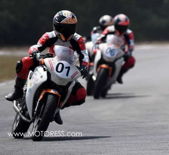 First Ever Women's Motorcycle Race Makes Debut Chennai India #MOTORESS #inspiring
