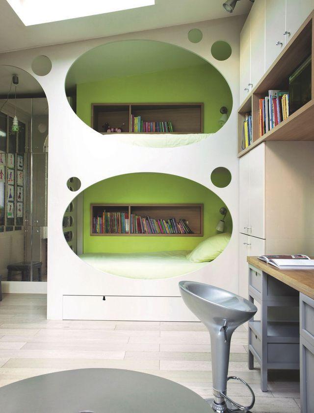 Chambres d'enfants : déco ludique et colorée - Côté Maison´Chambres d´enfant   Décorez votre chambre des enfants peut être un défi, spécialement parce que vous voulez qu'ils se sentent à l'aise et heureux, mais en même temps, vous savez qu'ils vont grandir et leurs goûts changent. #chambres #design #decoration http://www.delightfull.eu/en/