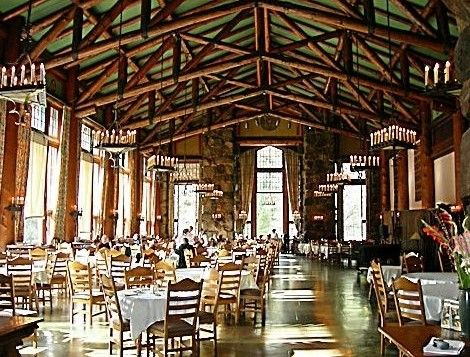 Ahwahnee Hotel Dining Room Ahwahnee Dining Room At The Ahwahnee Hotel With Beautiful Views Of