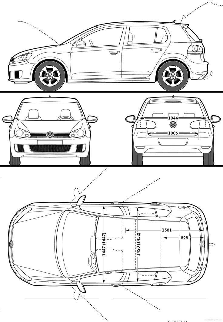 volkswagen golf gti 5 door 2009 blueprints pinterest golf cars and volkswagen golf. Black Bedroom Furniture Sets. Home Design Ideas