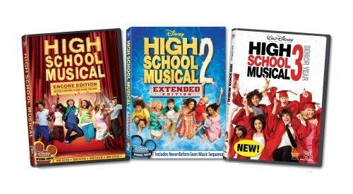 Awesome Amazing USED (GD) High School Musical 1-3 (2009) (DVD)  2017-2018 Check more at http://24myshop.ml/my-desires/amazing-used-gd-high-school-musical-1-3-2009-dvd-2017-2018/