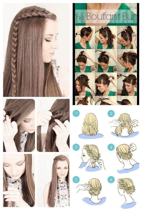 Gemakkelijke Kapsels Voor De Kerk Simple Hairstyles Voor In Jaar In 2020 Hair Styles Easy Hairstyles Damp Hair Styles