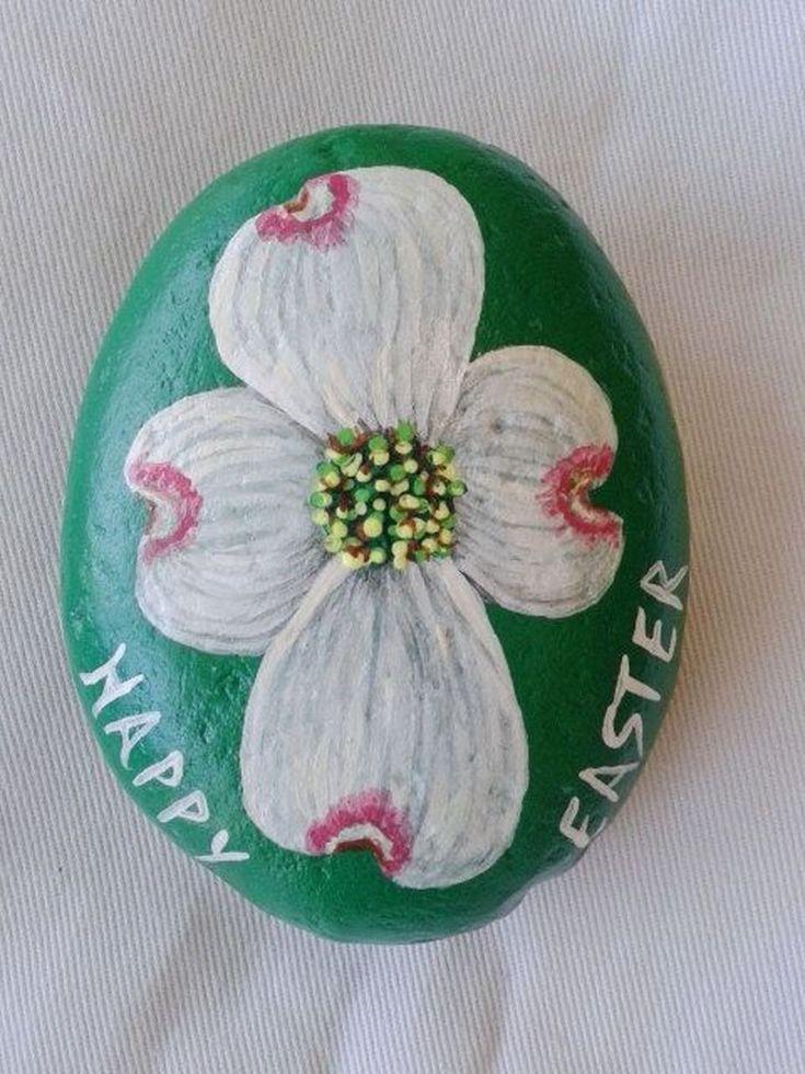 Creative DIY Easter Painted Rock Ideas 51