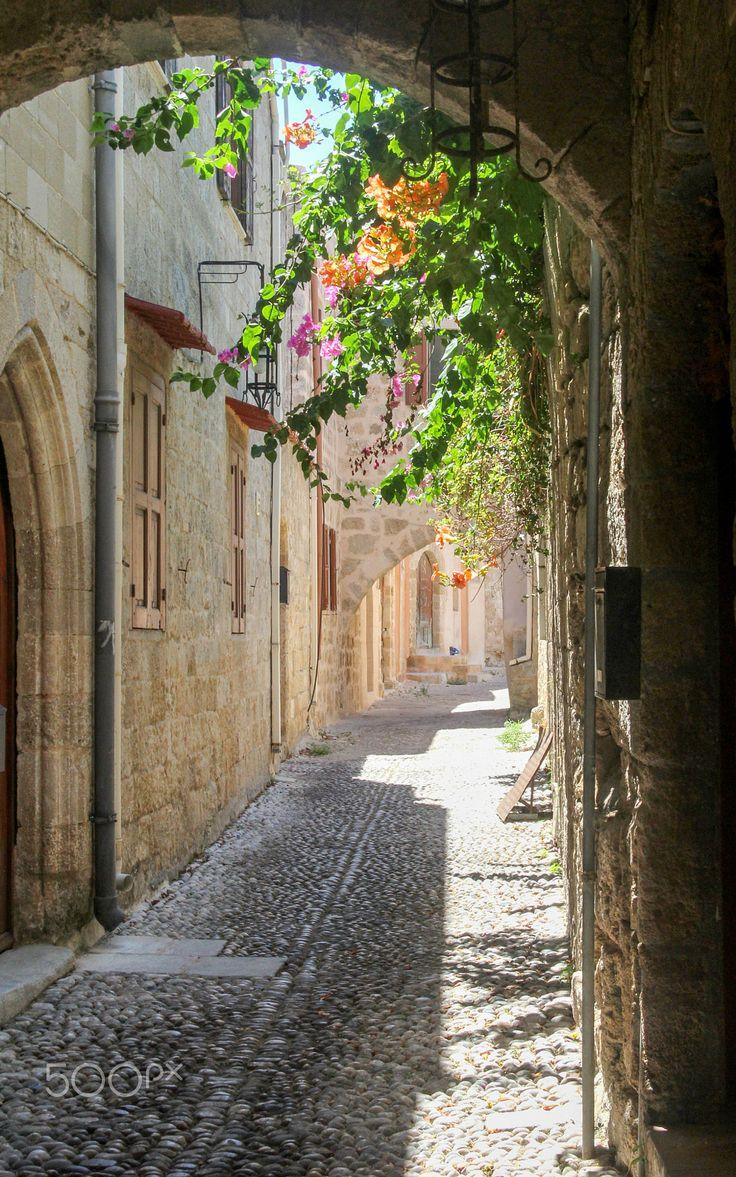 Old Rhodes, Greece
