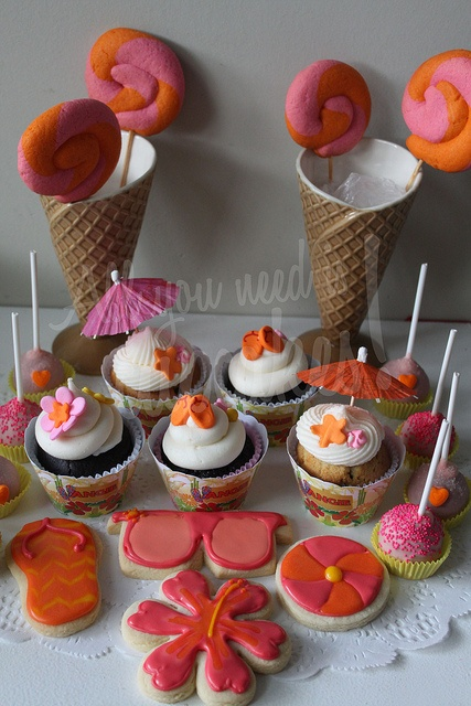 Hawaii Birthday by All you need is Cupcakes!, via Flickr