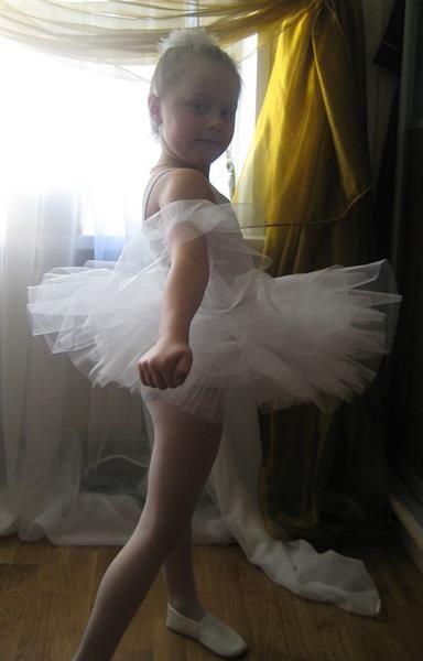 Как пошить костюм балерины