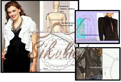 Šikulíci: Odkazy na střihy a návody k šití na saka, sáčka