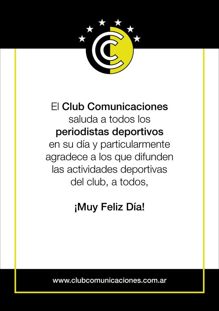 Feliz día del periodista deportivo!!!