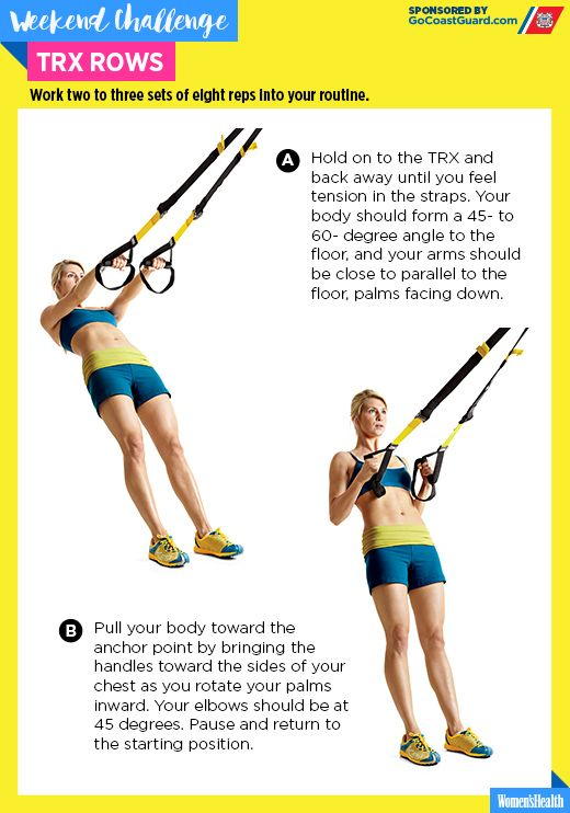 Slow Your Row to Strengthen Your Core and Sculpt Your Arms  http://www.womenshealthmag.com/fitness/trx-rows-challenge?cid=soc_Women's%2520Health%2520-%2520womenshealthmagazine_FBPAGE_Women's%2520Health__
