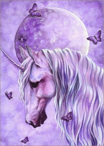 Fibromyalgia symbols:purple and butterflies