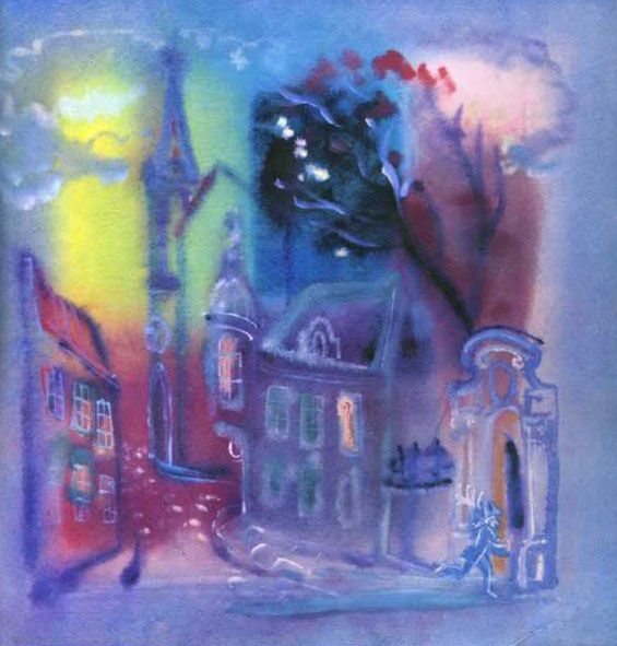 G. A. V. Traugot ~ Ole Sandman - Fairy Room