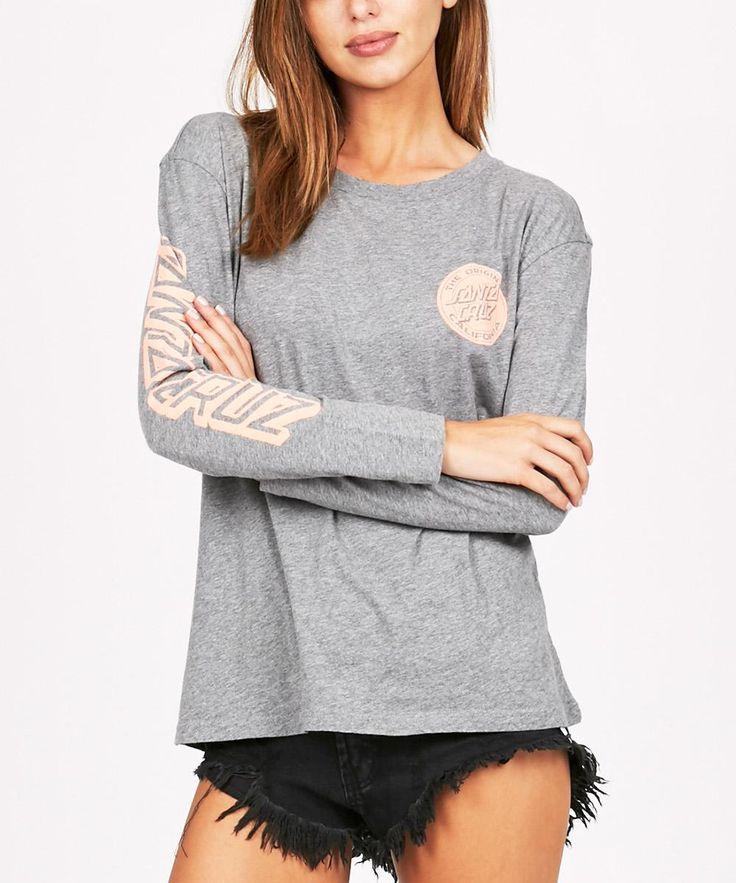 CALI FILL LONG SLEEVE T-SHIRT | Long Sleeve T-Shirts | T-Shirts | Clothing | Shop Womens | General Pants Online
