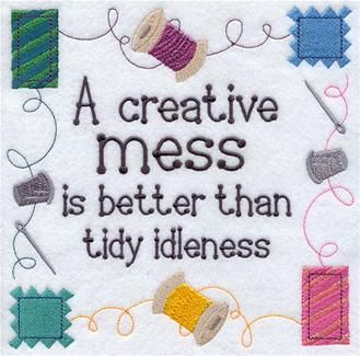 Machine Embroidery Designs at Embroidery Library! - Sewing Room Decor