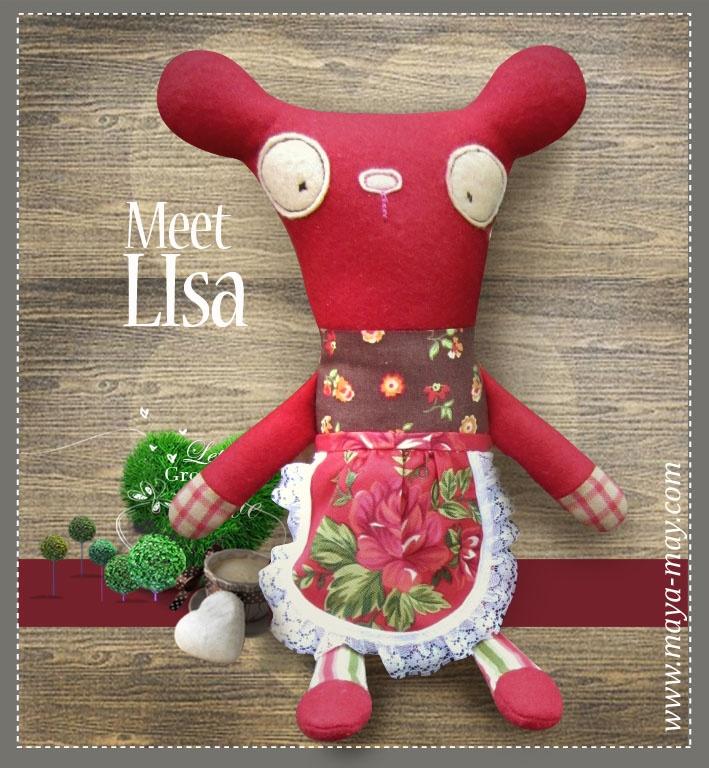 Meet our new plush friends LISA by MM KIDDO!. |Price: AUD15.00  |www.maya-may.com |Enquiries: mayamay24@gmail.com. Text : Angela +61413504255 (Australia) #dolls #plushies #felt #handmade #kids #toys #gifts