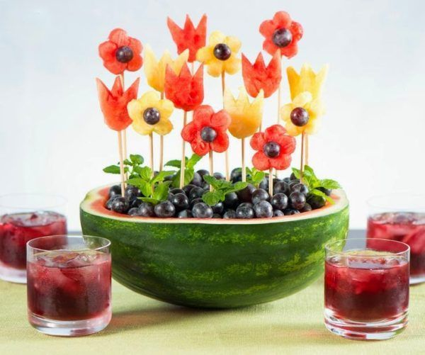 Image result for watermelon fruit display