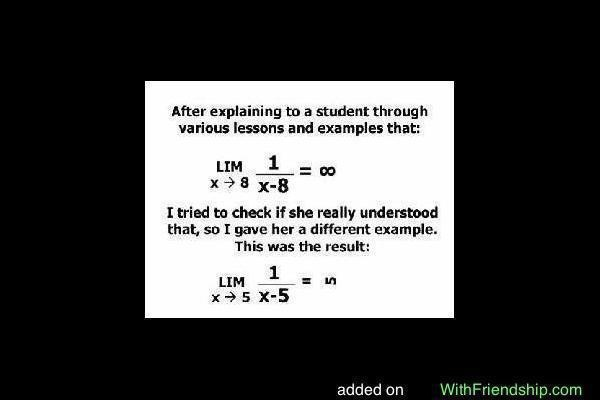Calculus in joke form!