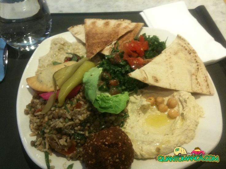 Hommus, Falafel, Tabuli e altre specialità libanesi