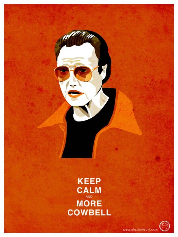 Christopher Walken - More Cowbell