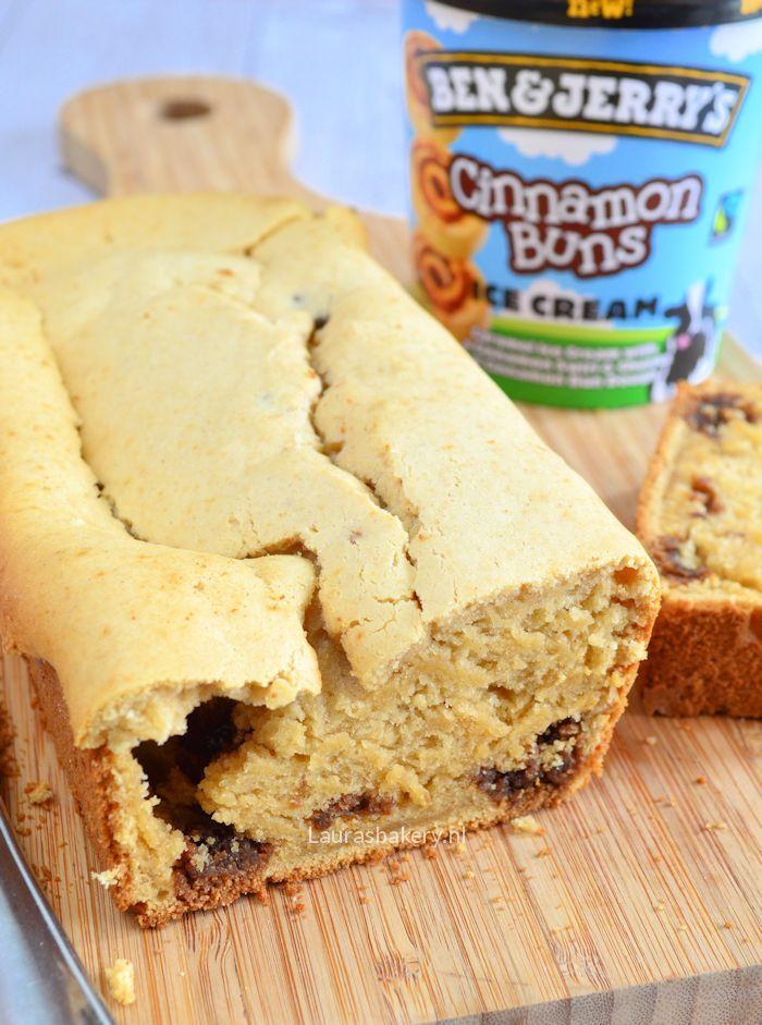 2 ingredient Ben & Jerry's cake - Laura's Bakery