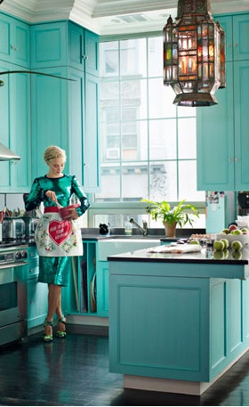 Turquoise Kitchen Cabinets I Am Painting My Kitchen Cabinets This