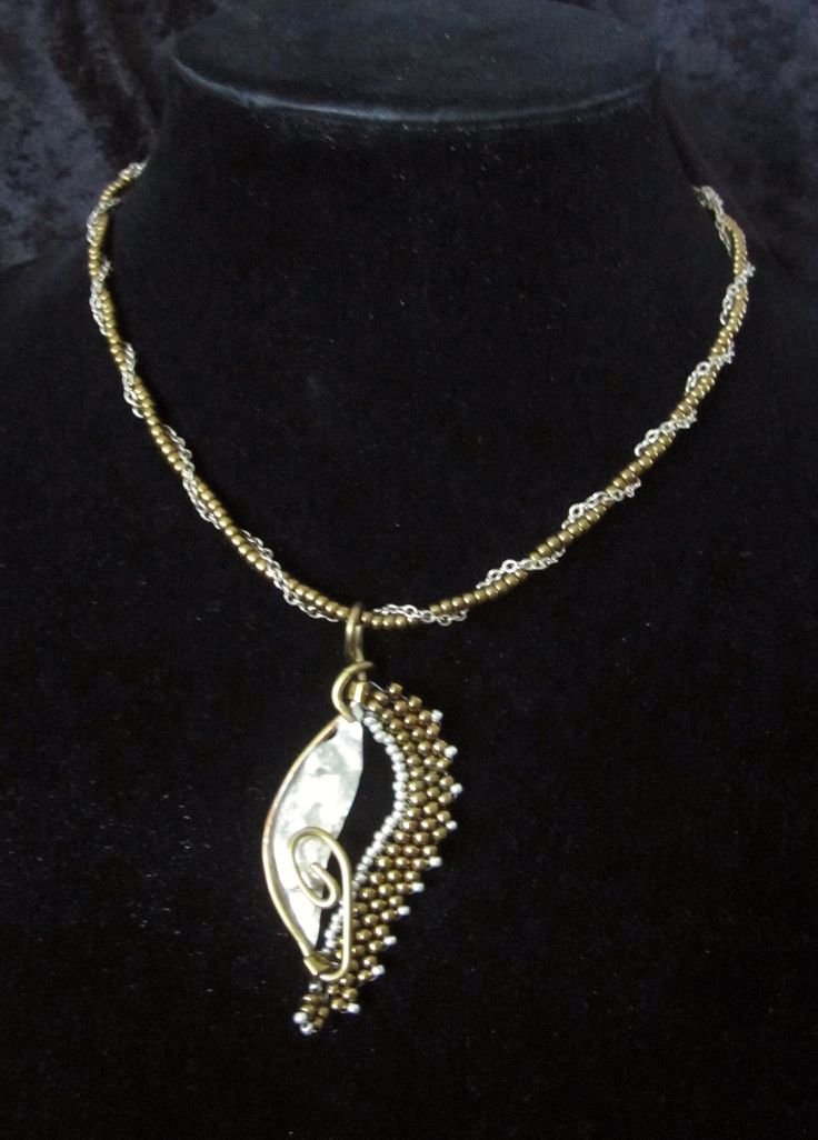 Bronze & Sterling Silver