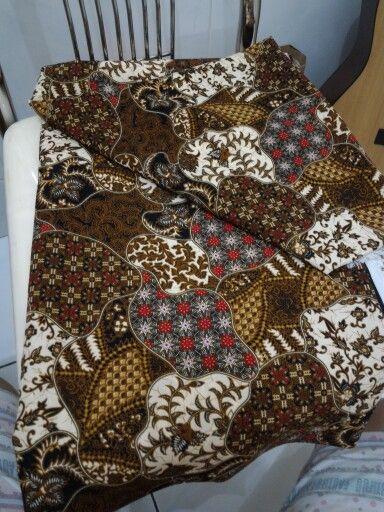 Kain tille batik print