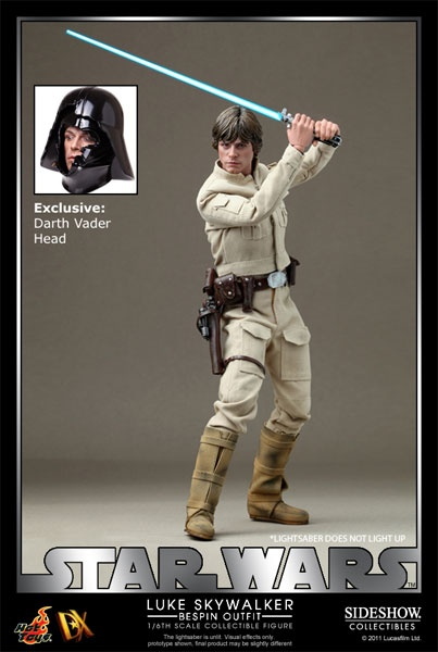 Hot Toys Luke Skywalker Bespin Outfit Sixth Scale Figure