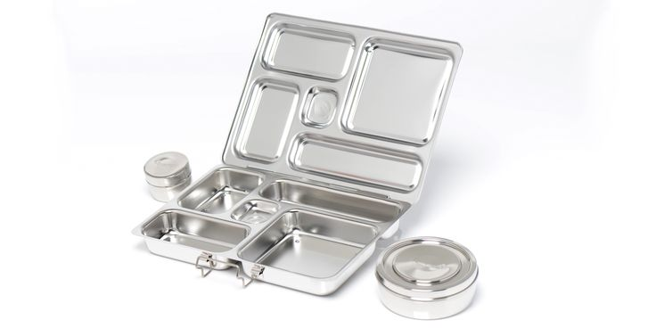 Rover Stainless Steel Divided Lunch Container | Planet Box