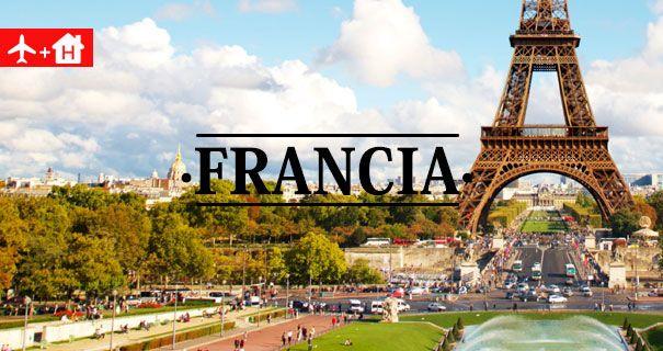 Ofertas Vuelo + Hotel Francia