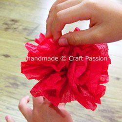 tissue flowersTissue Flower