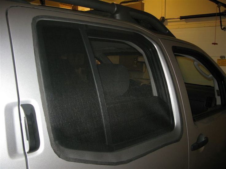 How To Make Window Screens For Truck Camping Second