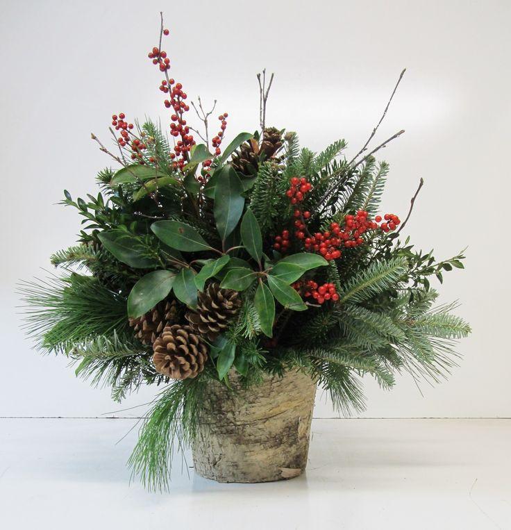 Best ideas about christmas arrangements on pinterest