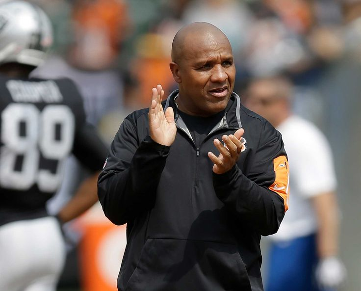 The 49ers began their head-coaching search by requesting permission to interview Bengals offensive coordinator Hue Jackson, the NFL Network reported.  The Dolphins have also requested an interview with the former Raiders head coach, who won't be available to speak until after the Bengals' wild-card game against the Steelers on Saturday.  Baalke was a scout and Jackson was the running backs coach before he became Washington's offensive coordinator in 2003.