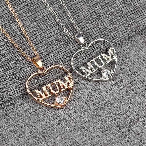 Explosion Models MUM Love Heart Pendant Necklace $9.99