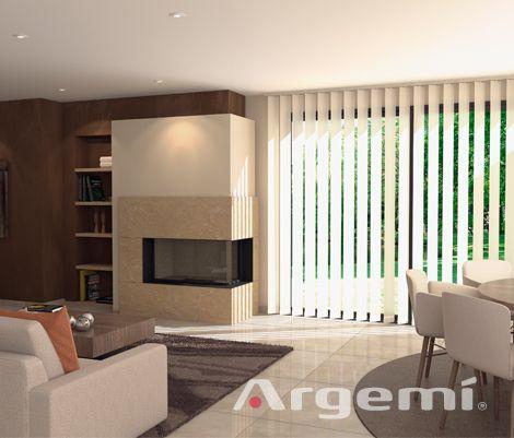 Chimeneas modernas Cadí (lateral) con recuperador de calor altas prestaciones #fireplaces #diseño #leña #obra #chimeneas