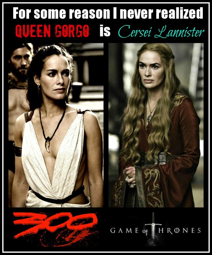 queen gorgo and cersei - photo #1