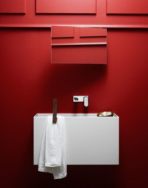 Square Washbasin Pool - Wash Basin Bathroom   Azzurra Ceramica S.p.A.