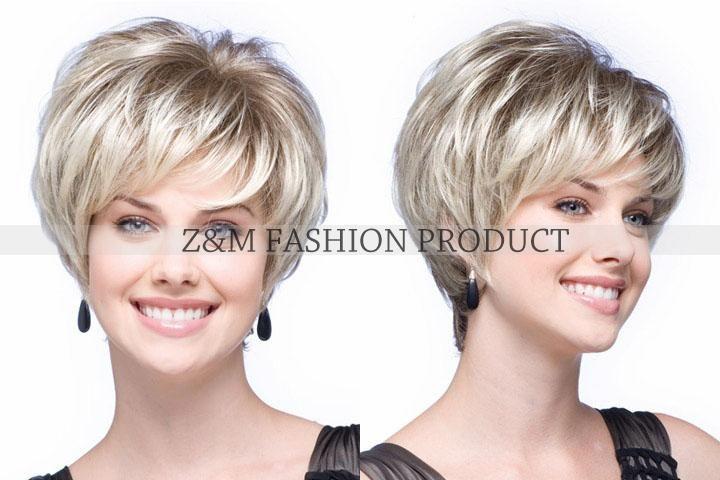 Боб короткий прямой русый парик для женщин Peluca плутон сексуальная синтетические волосы афро парики полный парик с бесплатным роза крышки парика купить на AliExpress