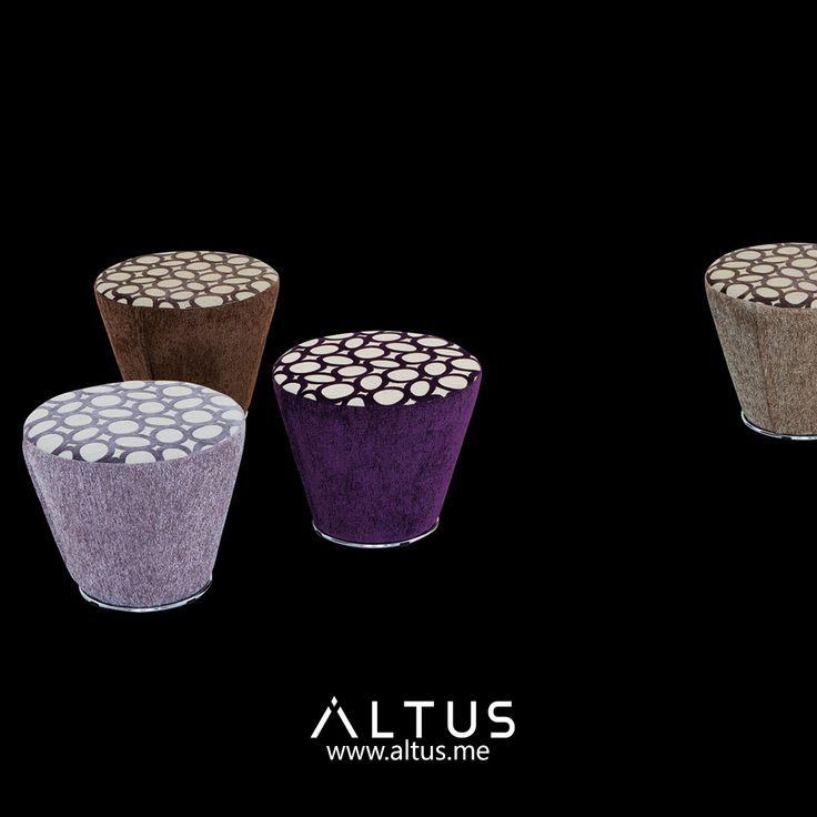 Coni pouf from Il Loft, designed by Giorgio Saporiti, made in Italy. www.Altus.me #furniture #luxury #design #designer #pouf #home #interiordesign