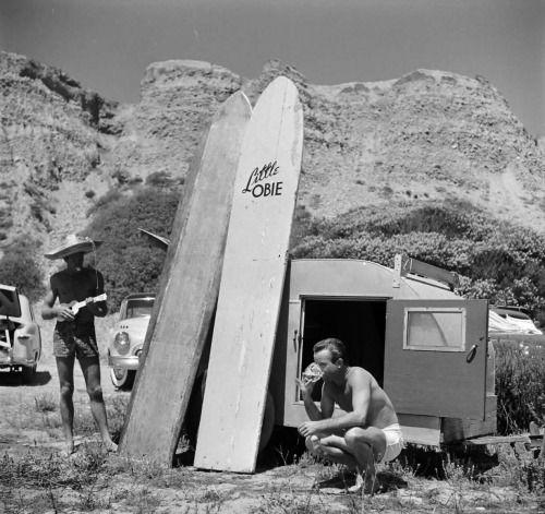 loomis dean… san onofre, calif., 1950 @ pleasurephoto